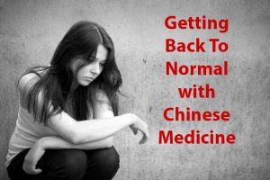 Learn about feeling normal with Chinese Medicine