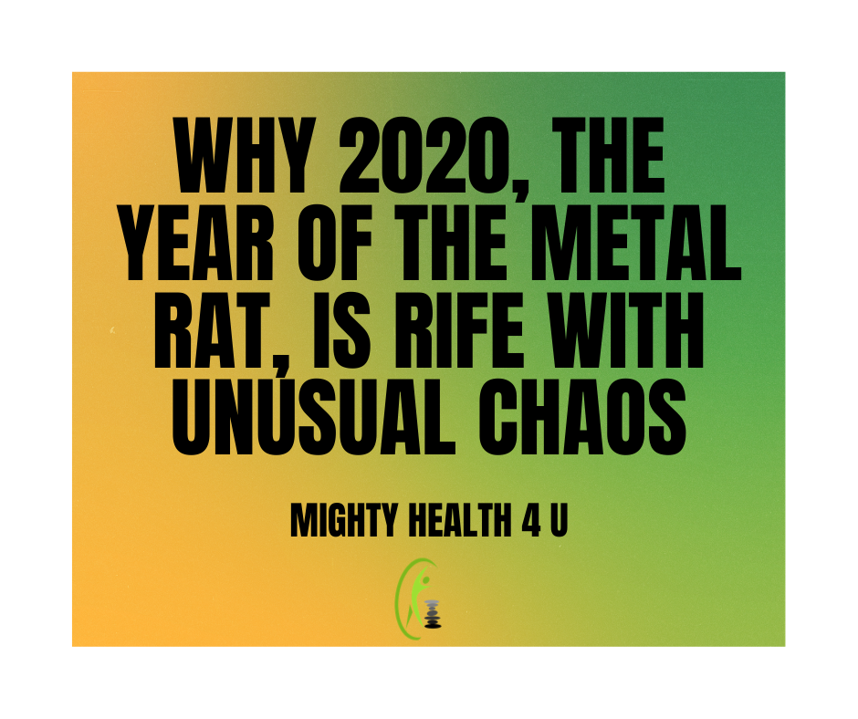 Why 2020 the Year of the Metal Rat is Rife With Unusual Chaos