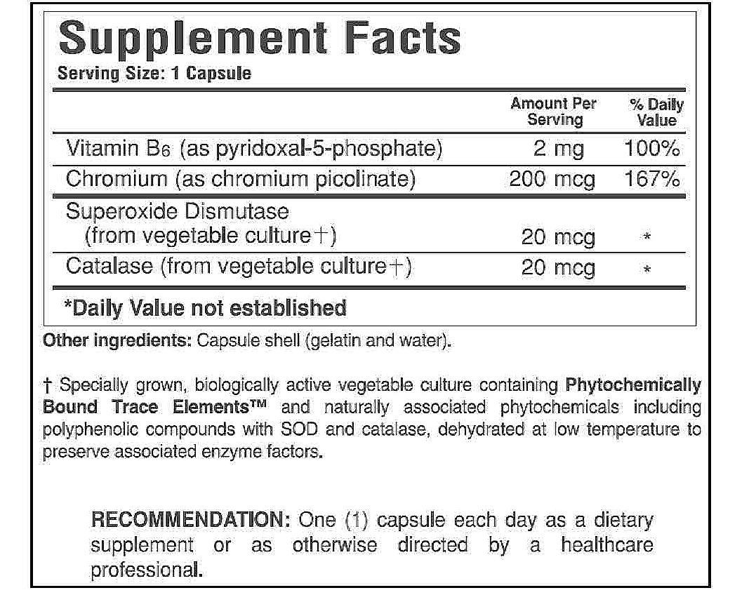 Chromium Picolinate & B6