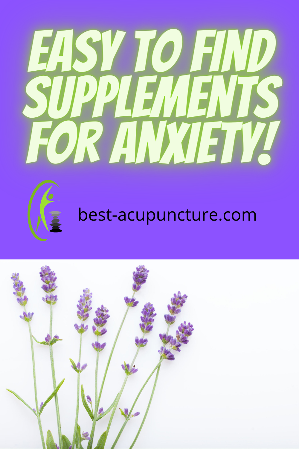 Easy to find supplements for stress and anxiety