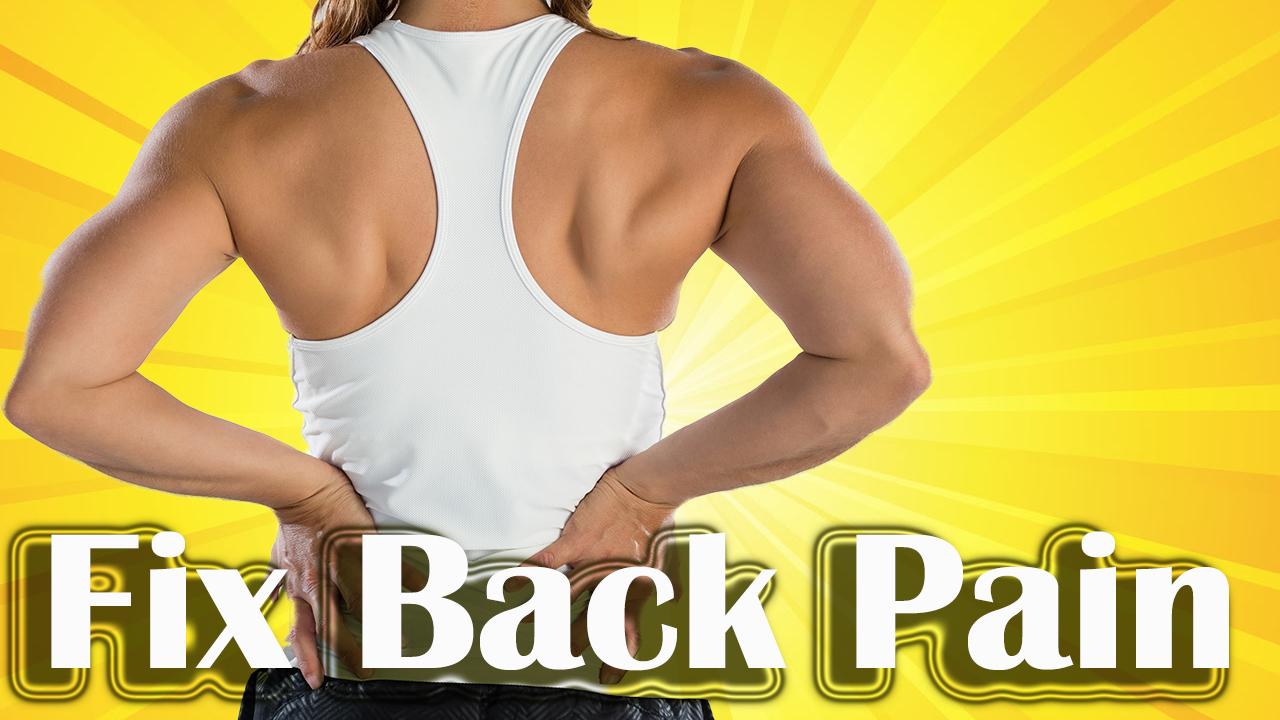 Fix back pain